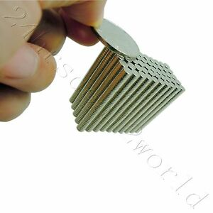 2000pcs 4mm X 1mm Disc Tiny Craft Rare Earth Neodymium Strong Industrial Magnet