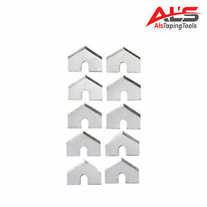 Automatic Drywall Taper Stainless Steel Cutter Blades 10 Pack