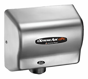 American Extremeair Cpc9 ss Cold Plasma Automatic Hand Dryer Stainless Steel Nib