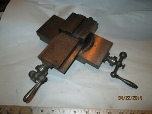 Machinist Tools Lathe Mill Small Micro Jewelers Lathe Cross Slide