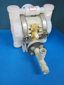Wilden Air Operated Double Diaphragm Pump 418 Ppz Tf Tf Pts