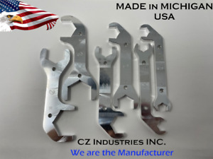 An Combination Aluminum Wrench Set From Cz Industries An4 An6 An8 An10 An12