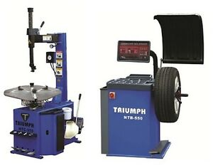 Tire Changer Wheel Changers Machine Balancer Rim Combo 950 550