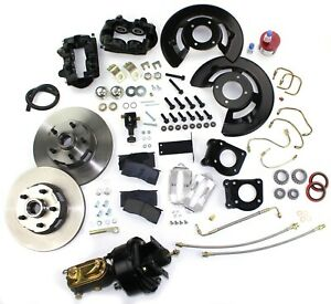 1964 1965 1966 Mustang Front Disc Brake Conversion Kit Power Automatic Trans