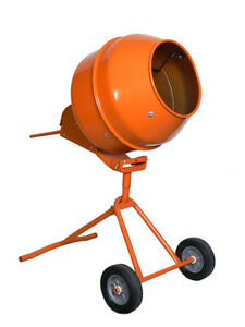 5 Cu Ft Portable Cement Concrate Mixer Tall