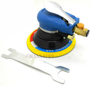 New 6 Air Random Orbital Palm Sander Body Sanding Automotive Tool