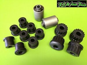 Front Rear Leaf Spring Bushings Set Suzuki Samurai 86 95