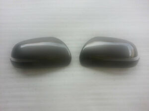 Genuine Front Side Mirror Cover 2p Silver Im For 2009 2013 Kia Forte Koup