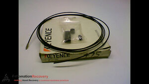 Keyence Fu 7f Fiber Optic Sensor With 2m Cable New 152298