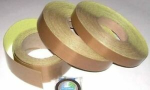 Teflon Adhesive Tape 0 005 In X 1 In X 10 Yds pack With 4 Pz