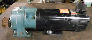 Reliance Electric 1 5 Hp Dc Motor T56h1034v rs W Speed Reducer Warranty