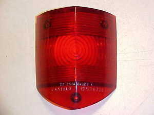 Ferrari 250 Tail Light Lamp Lense Carello Lens New Oem Nos