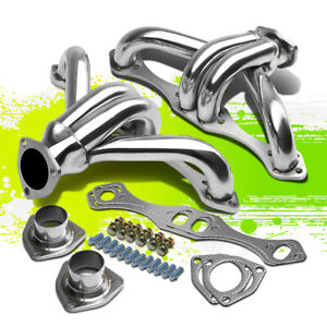 For Small Block Hugger Sbc 283 305 327 350 400 8 2 Performance Exhaust Header
