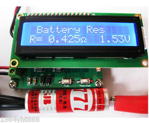 Internal Battery Resistance Impedance Tester Voltmeter In ciruit Cap Esr Meter