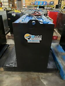36 Volt Fully Refurbished Forklift Battery 18 125 17 With Core Credit