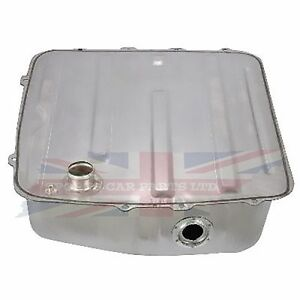 New Plated Gas Fuel Tank Mg Mgb 1977 1980 With Deluxe Installation Kit