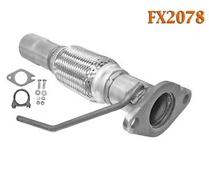 Fx2078 Semi Direct Fit Exhaust Flange Repair Flex Pipe Replacement Kit W Gasket