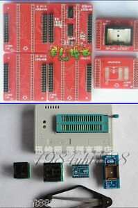 Usb Universal Programmer Eprom Flash Cpld Mcu Tsop32 40 48 To Dip40 Adapters