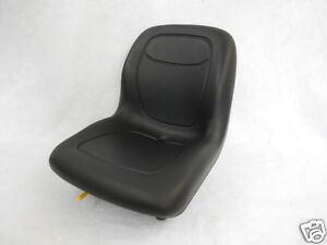 Black Seat Bobcat ford new Holland case john Deere gehl Skid Steer Loader ca