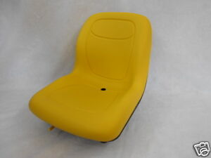 Yellow Seat John Deere bobcat ford new Holland case gehl Skid Steer Loaders oc