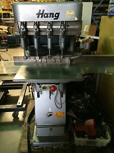 Hang Heavy Duty Paper Drill W 4 Drill Heads Included