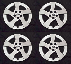Set Of Four 4 15 Hubcap Rim Wheel Cover For 2010 2011 Toyota Prius Wheelcover
