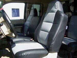 Ford F 650 F 750 2004 2012 Leather like Custom Fit Seat Cover