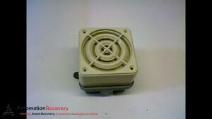 Federal Signal 50gc Series B Speaker audible 24 Volts Hz 50 60 dc 154671