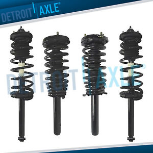 Complete Front Rear Strut Coil Spring Shocks Kit For 2001 2002 2003 Acura Cl