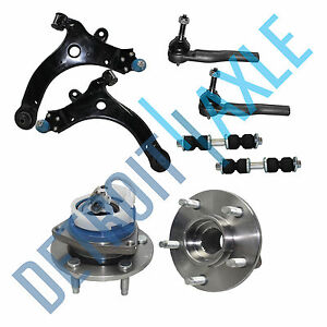 Grand Prix Venture Montana Lower Control Arm Front Wheel Bearing Tie Rod Kit