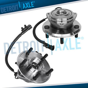 2007 2016 Jeep Wrangler 2 Front Passenger And Driver Wheel Bearing