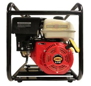 3 Gas Water Pump Semi Trash Pump 6 5 Hp 3 Inch Inlet Outlet Npt New Pool Marine