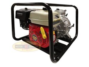 3 Gas Water Pump Full Trash Pump 6 5 Hp 3 Inch Inlet Outlet Npt New Pool Marine