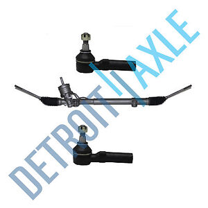 Complete Rack And Pinion Assembly 2 Outer Tie Rod End For 1997 2004 Corvette