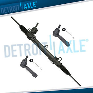 Complete Rack And Pinion Assembly 2 Outer Tie Rod Ends For Dodge Chrysler
