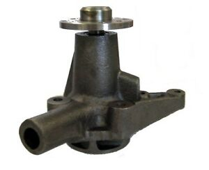 New Cast Iron Water Pump For Mgb 1965 1971 Gwp114 Long Nose 4 Base To Pulley