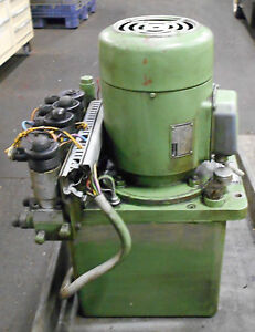 Hawe Hydraulic Unit Power Supply P43 b6a90s 1 Used Warranty