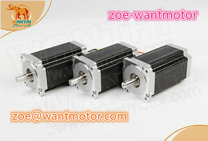 Ship From Usa And Free 3pcs Wantai Motor Nema34 Stepper Motor 1232oz in 5 6a