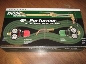 Item 605 victor Performer Sel Oxy Acetylene Torch Set Complete