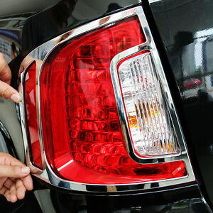 New Abs Chrome Trim Rear Light Cover For Ford Edge 2011 2014