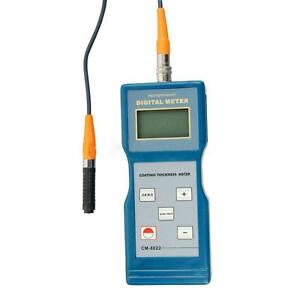 Paint Coating Thickness Meter Gauge F nf Probes 0 1000 Um Cm 8822
