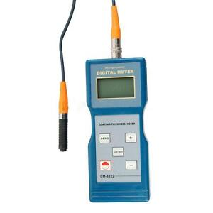 Cm 8822 Paint Coating Thickness Meter Gauge F nf Probes 0 1000 Um Free Shipping