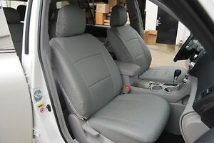 Toyota Highlander 2011 2013 Leather Like Seat Cover