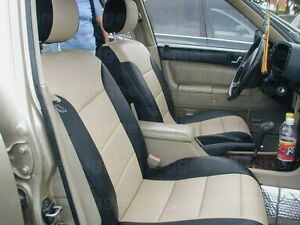 Volvo S60 2001 2008 Leather Like Custom Fit Seat Cover