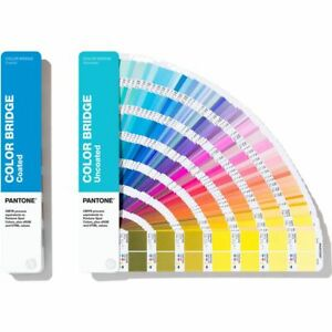 Pantone Gp6102n Color Bridge Guides Coated Uncoated replaces Gp5102