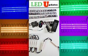 40ft Storefront Led Light Rgb Color 5050 12v Ul Listed Power Wireless Remote
