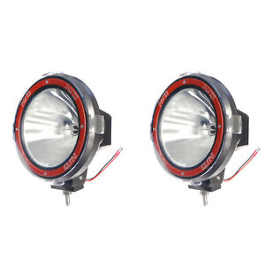 Pair 7 Inches 4x4 Off Road 6000k 55w Xenon Hid Fog Lamp Light Spot 2pcs