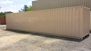 40 Cargo Shipping Container Refurbished