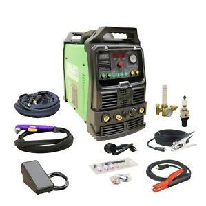 Powerpro 164 160amp Acdc Tig Stick Pulse Welder 40amp Plasma Cutter By Everlast