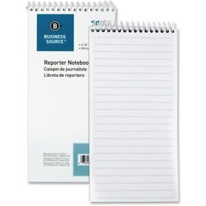 Reporter s Pocket Notebook Ruled Spiral 4 x8 70 Shts we Bsn10972
